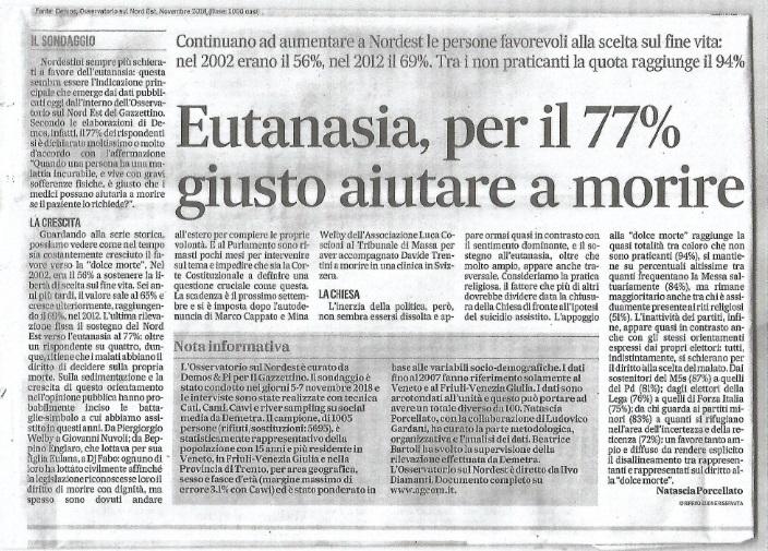Eutanasia, pro e contro